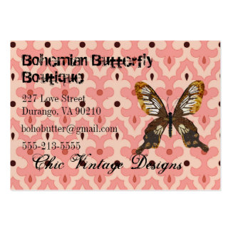 Bohemian Butterfly Boutique Business Cards
