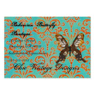 Bohemian Butterfly Boutique Turqoise & Orange Dama