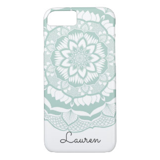 Bohemian Chic Henna Mehendi Mandala Pattern iPhone 8/7 Case