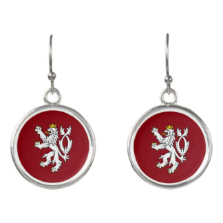 Bohemian Coat of arms Earrings