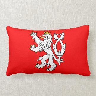 Bohemian Coat of arms Lumbar Cushion
