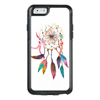Bohemian Dream Catcher in Vibrant Watercolor Paint OtterBox iPhone 6/6s Case
