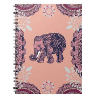 Bohemian Elephant Notebook