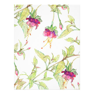 Bohemian Garden   Floral DIY Envelopes Liner 21.5 Cm X 28 Cm Flyer