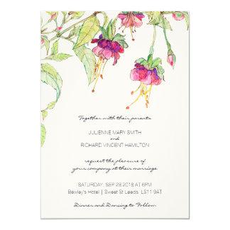 Garden Wedding Invitations Announcements