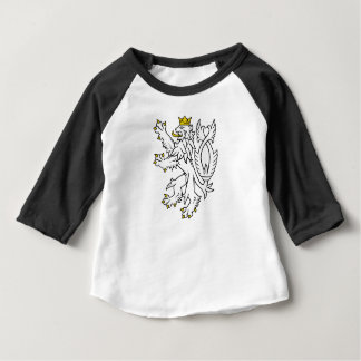 Bohemian heraldic lion baby T-Shirt