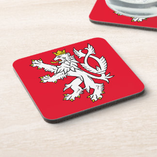 Bohemian heraldic lion coaster