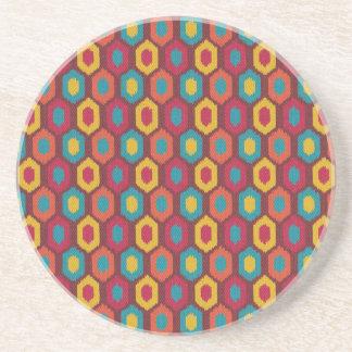 Bohemian Ikat Coaster