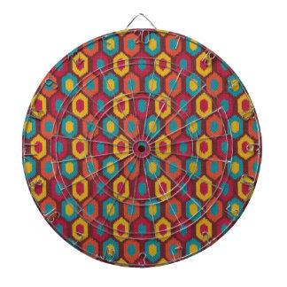 Bohemian Ikat Dartboard