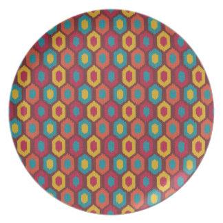 Bohemian Ikat Plate