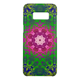 Bohemian kaleidoscope Fuschia Pink green mandala Case-Mate Samsung Galaxy S8 Case