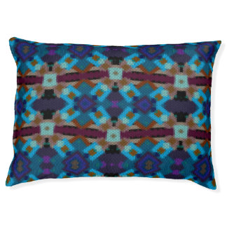Bohemian ornament in ethno-style, Aztec Pet Bed