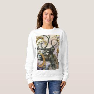 Bohemian Reindeer Sweatshirt