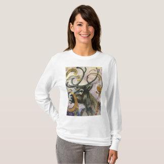 bohemian Reindeer T-Shirt