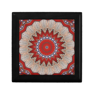 Bohemian Southwest Tribal Aztec pattern Gift Box