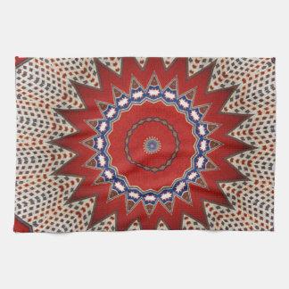 Bohemian Southwest Tribal  pattern Tea Towel