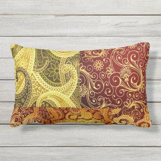 Bohemian Spring and Summer Chic Lumbar Cushion