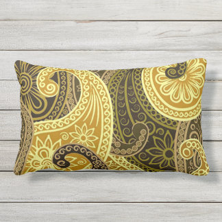 Bohemian Spring and Summer Chic Outdoor Cushion