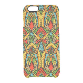 Bohemian Stained Glass Pattern Clear iPhone 6/6S Case
