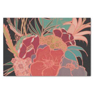 Bohemian Vintage Party Floral Tissue Paper