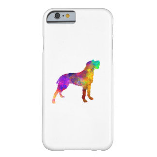 Bohemian Wirehaired Pointing Griffon in watercolor Barely There iPhone 6 Case