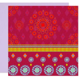 BOHO1 Mandala - Invitation Card