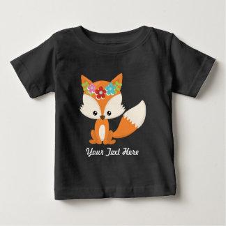 Boho Autumn Fox Baby T-Shirt