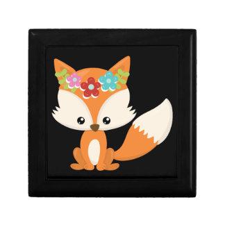 Boho Autumn Fox Gift Box
