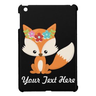 Boho Autumn Fox iPad Mini Cases
