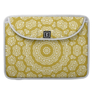 Boho Bazaar Mosaic Gold Pattern Sleeves For MacBooks