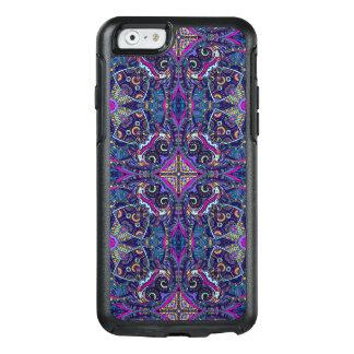 Boho blue kaleidoscope native american trend OtterBox iPhone 6/6s case