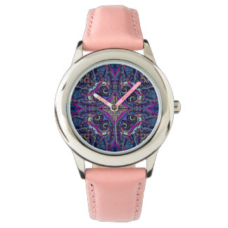 Boho blue kaleidoscope native american trend watch