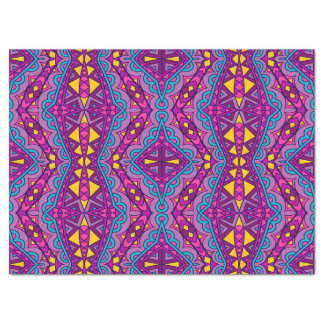 Boho Bohemian Retro Colorful Pattern Tissue Paper
