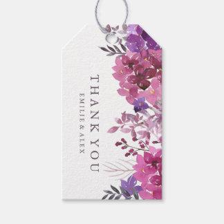 Boho Botanicals Wedding Favor Gift Hang Tag