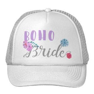 Boho Bride Cap