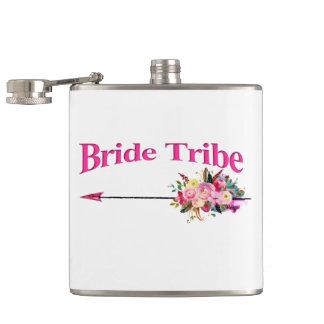 Boho Bride Tribe Hip Flask