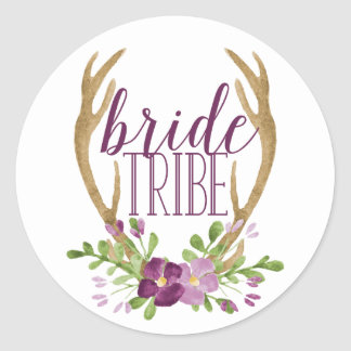 Boho Bride Tribe Stickers