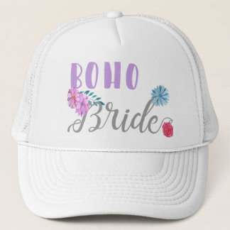 Boho Bride Trucker Hat