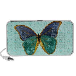 Boho Butterfly Doodle Speaker