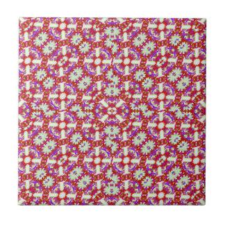 Boho Check Ceramic Tile