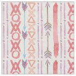 Boho Chic   Bold Watercolor Fabric