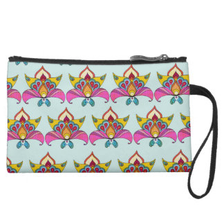 Boho Chic Design Wristlet Purse
