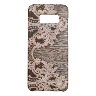 boho chic Rustic Western Country Barn Wood Lace Case-Mate Samsung Galaxy S8 Case