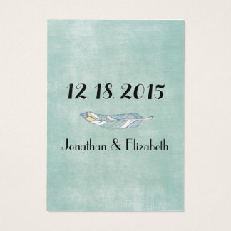 Boho Chic Save the Date Reminders