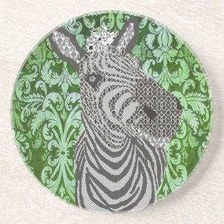 Boho Chic Zebra Coaster