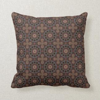 Boho Cross Batik Organic Pattern  Cushions