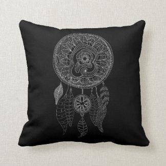 Boho Dream Catcher   Tribal Pillow