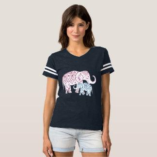 Boho Elephants , MOM and Me matching T-Shirt