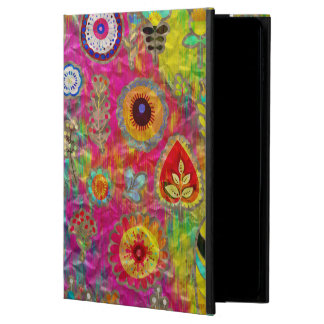 Boho Flowers Abstract mixed media digital art Powis iPad Air 2 Case