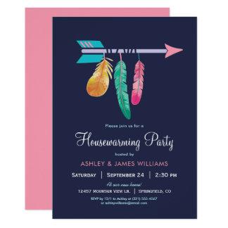 Boho Housewarming Party Invitation